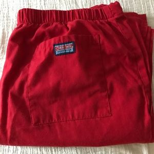Red Cherokee pants size small